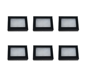 6 Pack Of 2 X 3 1 2 X 3 4 Riker Display Cases Boxes For Collectibles Jewelry