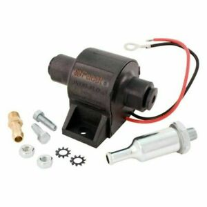 Facet Fep04sv Posi Flo Electric Fuel Pump 1 5 4 Psi Includes Clamps Fittings
