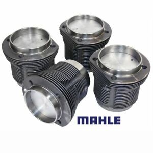 Vw Air Cooled 1641cc Mahle Cast Pistons Cylinders 87mm X 69mm Set Of 4