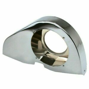 Empi 8857 Chrome Angled Fan Shroud Without Heater Ducts vw Air cooled Engine