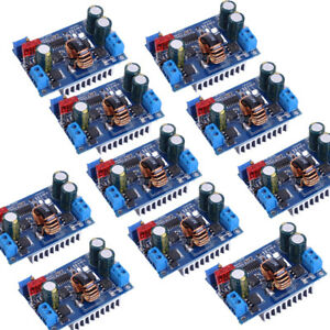 10x Dc dc 5 32v 1 25 20v Automatic Step up Down Power Supply Boost Buck Module