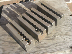 Moore Jig Borer Jig Grinder Table Extensions 4 Pc Set 2 X 2 1 4 X 7