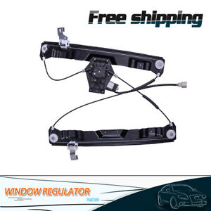 Power Window Regulator For Ford Explorer Front 2002 2008 Driver Side With Motor