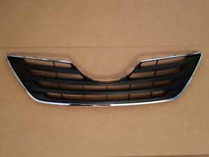 Fits 2007 2009 Toyota Camry Xle Front Bumper Radiator Grille Upper W Chrome New