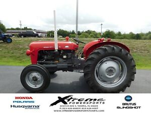 1963 Massey Ferguson 35 Tractor Red 379 Hours Vey Little Usage Just Serviced