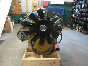 Cat C9 Acert Govt Surplus Diesel Engine 450hp Good Running Engine