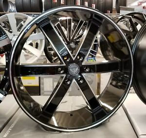 24 Inch Gima Rims Wheels Only Fits Chevy Cadillac Gmc Nissan Infiniti Forgiato