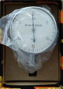 Brown And Sharpe 599 7207 Dial Indicator