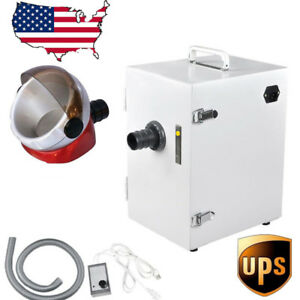 Usa Dental Lab Single row Dust Collector Vacuum Cleaner Desktop Suction Base