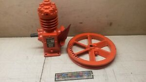 Nos Devilbiss Air Compressor W Pulley 120 a