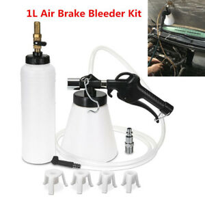 Bleeder Fill Set Fluid Adapter Air Pro Bleeding Clutch Vehicle Bottle Kit Brake
