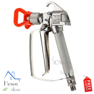 Paint Spray Gun Airless 3600psi High Pressure 248bar Guard Sprayer Machine
