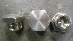 3 4 Stainless Steel 304 Pipe Fitting Hexagon Head Plug qty 180 156 a3