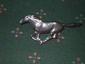 Vintage Ford Mustang Running Pony Chrome Emblem Approx 6 25