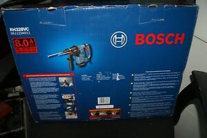 Bosch Rh 328vc Rotary Hammer Drill 1 1 8 Sds plus 8 0 Amps New