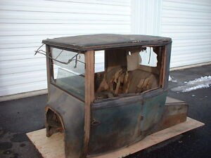 1918 Model T Ford Coupelet Body Brass Era Pre 16 1915 1916 1917 1919 1920 Coupe