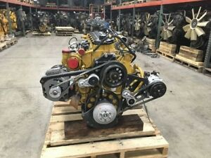 2010 Cat C7 Acert Diesel Engine 370 Hp Good Clean Running Engine