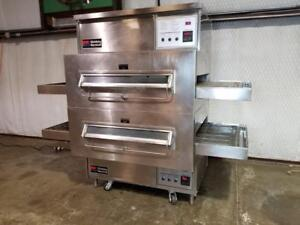 Middleby Marshall Ps360 Natural Gas Double Stack Conveyor Pizza Ovens 32 Belt
