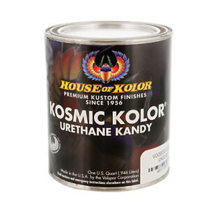 House Of Kolor Uk22 Voodoo Violet Kosmic Kolor Urethane Kandy Auto Paint 1 Quart