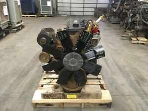 2005 Cat C 7 Acert Diesel Engine 190hp Approx 159k Miles Good Running Engine