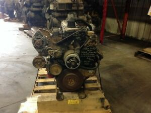 2001 Cat 3126e Diesel Engine 190 Hp Approx 193k Miles Good Running Engine