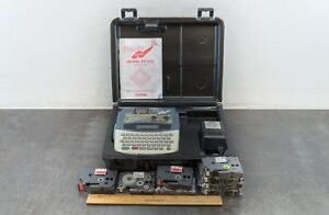 Brother P touch Pt 310 Electronic Tape Labeling System W Manual Case And Tapes