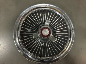 1965 Mercury Hubcap Wheel Cover 15 With Spinner Hub Cap Factory s11