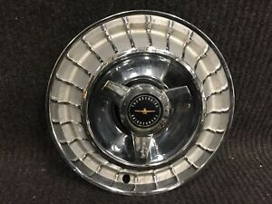 1963 Ford Thunder Bird Hubcap Wheel Cover 15 With Spinner Hub Cap Factory ac3