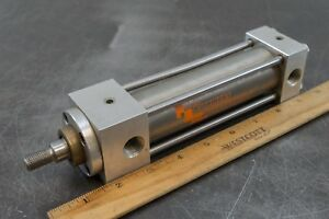 Csa 00243 a 4 100mm Stroke Stainless Steel Ss Pneumatic Air Cylinder Actuator