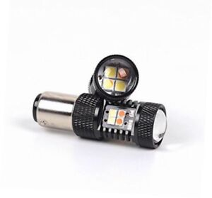 Led Import 3030 Smd White yellow 1157 2057 2357 7528 For Turn Signal h