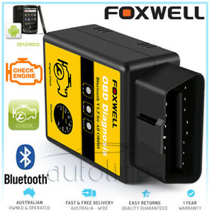 Foxwell Elm327 Obd2 Bluetooth Car Diagnostic Scanner Tool Android Fits Peugeot