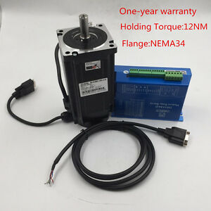 Hybrid Stepper Servo Closed Loop Motor Drive 12nm Nema34 6a 1 8 Degree Usa Stock