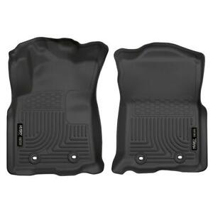 Husky Liners 13971 Weatherbeater Black Front Floor Mats For Toyota Tacoma