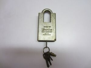 American Lock Company Series 747 Hardened Shrouded Padlock With Key