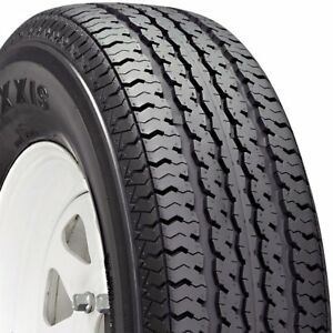 2 New Tire s St205 75r15 Maxxis M8008 Boat Trailer C 6 Bw 205 75 15 2057515