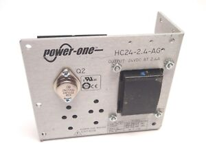 Power One Hc24 2 4 ag 24vdc At 2 4a Power Supply
