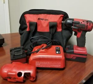 Snap on Ct8810a 18v 3 8 Impact With Bag And Extras C x