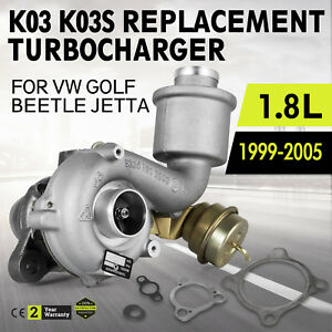 Oem Replacement K03s Turbo Charger Fits 99 05 Volkswagen Golf Jetta Beetle 1 8t