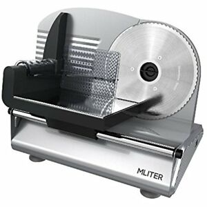 Electric Food Slicer Machine Precision 7 5 inch Stainless Steel Blade For Bread