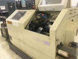 Star Kjr 16b Swiss Type Lathe With Yasnac Control Bar Loader Live Tools