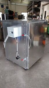 Batch Powder Coat Electric Curing Oven 3x3x4 Cerakote Lead Time Exist