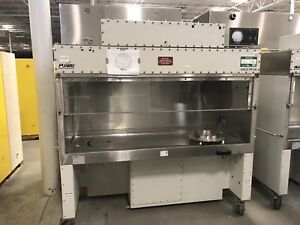Nuaire Safety Cabinet Fume Hood With Disposal Pass Through Class 2 Type Ab