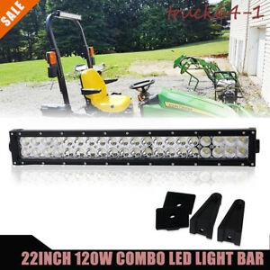 20 22 120w Led Light Bar Combo Beam Offroad Driving Lights For Tractor Truck