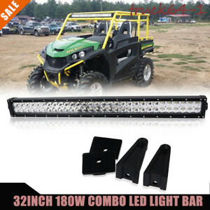 32 180w Led Light Bar Offroad Driving Lights For Tractor Golf Cart Jeep Yamaha
