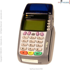 Verifone Omni 3740 Transaction Terminal