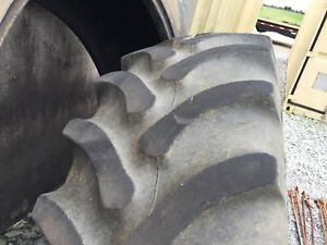 16 4r28 Firestone Radial All Traction Fwd tractor Tire 10 Ply