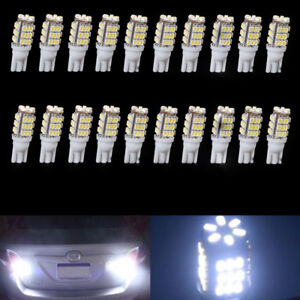 20x Bright White T10 921 194 Rv Trailer 42 Smd 12v Backup Reverse Led Light Bulb