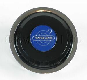 Nardi Steering Wheel Horn Button With Volvo Logo Fits Classic And Deep Corn