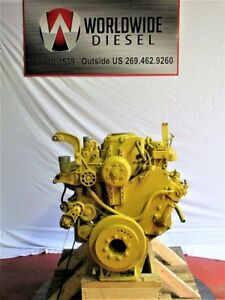 Cat 3126 Diesel Engine 230 330 Hp Approx 132k Miles