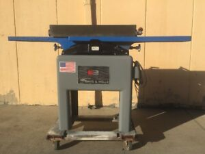 Davis Wells 6 Jointer 120 Volt 62 1 2 Long Bed